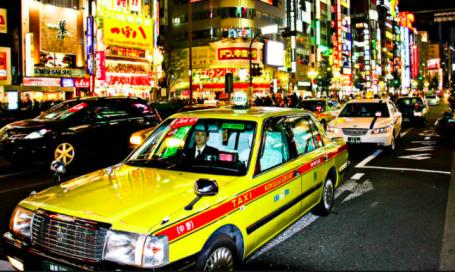 日本計程車景點觀光