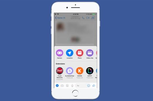 Facebook Messenger 除了傳訊息5 招(圖片來源/自由 3C 頻道)