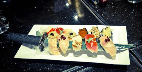 忍者餐廳食物