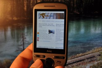 HTC Tattoo Android browser