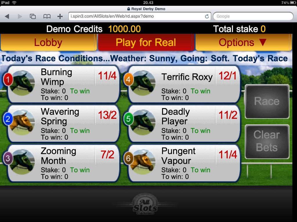 Top iPad Casino Sites