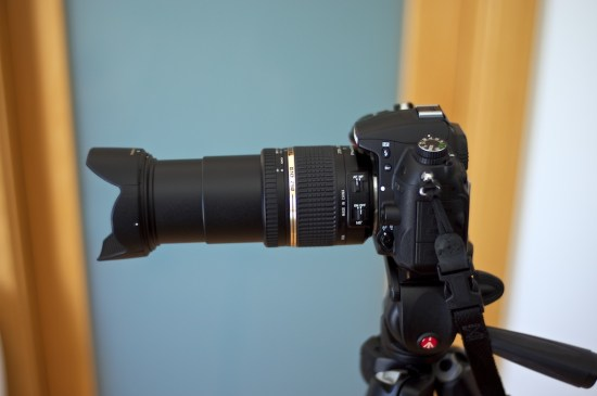 Tamron 18-270mm on Nikon D7000 - zoomed in to 270mm.