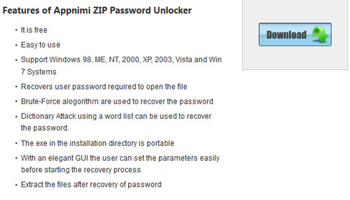 Appnimi-ZIP-Password-Unlock