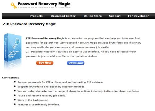 ZIP-Password-Recovery-Magic
