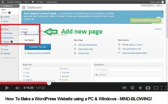 how-to-make-wordpress-site-pages-4