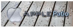 Temporary ApplePatio.com logo untill I get something better