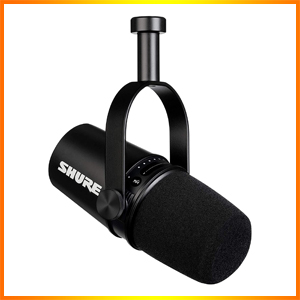 Shure MV7 USB Podcast Microphone for Podcasting