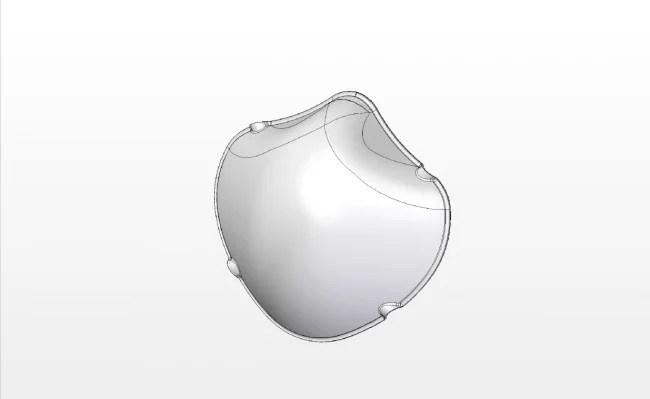 株式会社柏楽 国産立体構造の抗菌「3D-MOLD」マスク