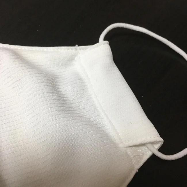 【洗える】接触冷感/吸湿放湿吸汗速乾/UVカット立体布マスク