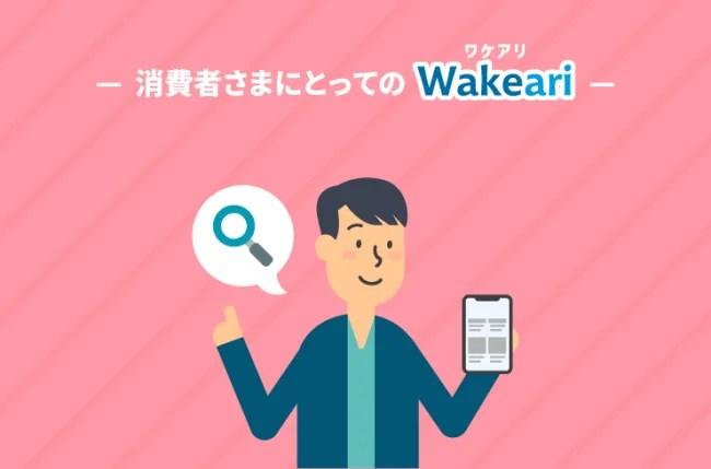 Wakeari(ワケアリ)をイラストでご紹介
