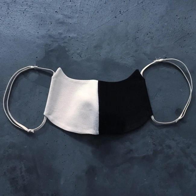 株式会社ネコリパブリック 洗える猫型マスク 黒ブチ猫