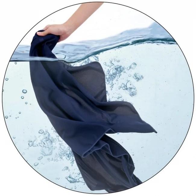 ディノス・セシール、【タオル】しっかり濡らして振ると、さらにひんやり-10℃