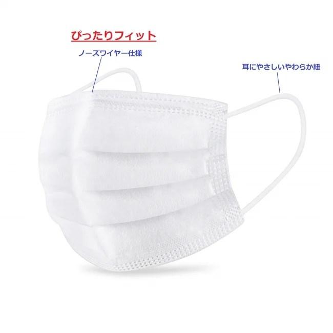 RedHat株式会社 超安心ふんわりフィットマスク(非医療用)