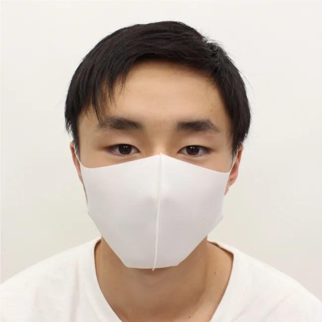 冷感マスク 大人用サイズ 3枚入 HED20055