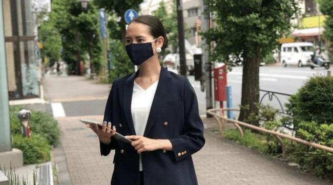 「真夏用マスク」 SUMMER MASKme/サマー・マスクミー