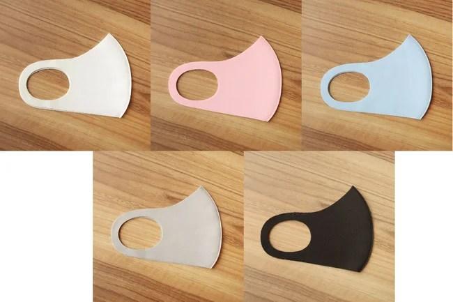 MASK CLUB、洗える接触冷感マスク