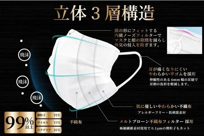 高機能不織布マスク『SAMURAI MASK』