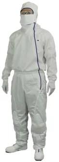 東京エレクトロンと開発したクリーンスーツの技術を転用