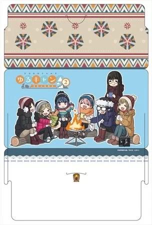 ゆるキャン△ SEASON2 マスク&ケースセット