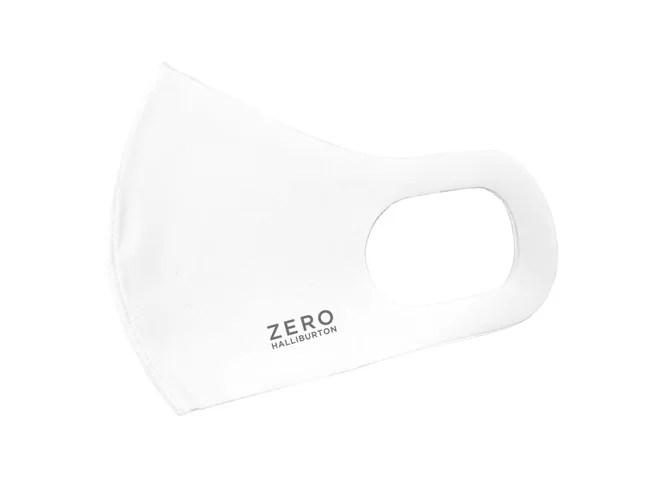ゼロハリバートン、冷感夏マスク ホワイト