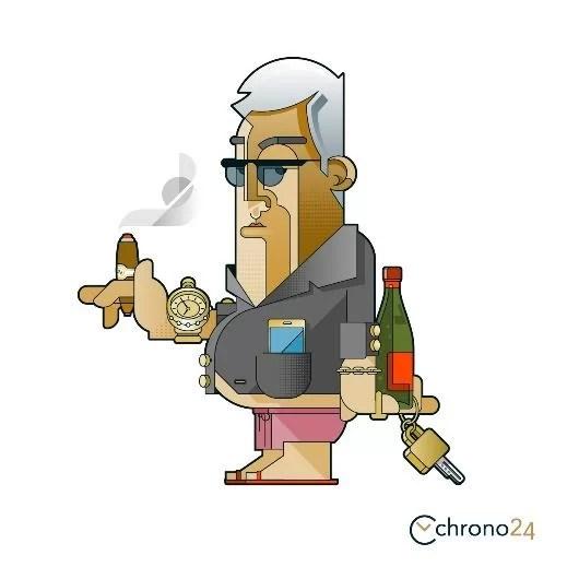 Chrono24、Rolex:成功しているビジネスマン