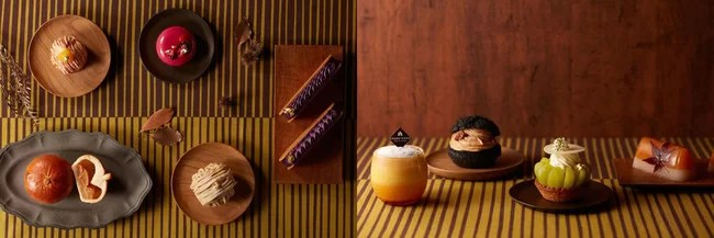 【グランドニッコー東京 台場】秋の限定スイーツ&パンを販売