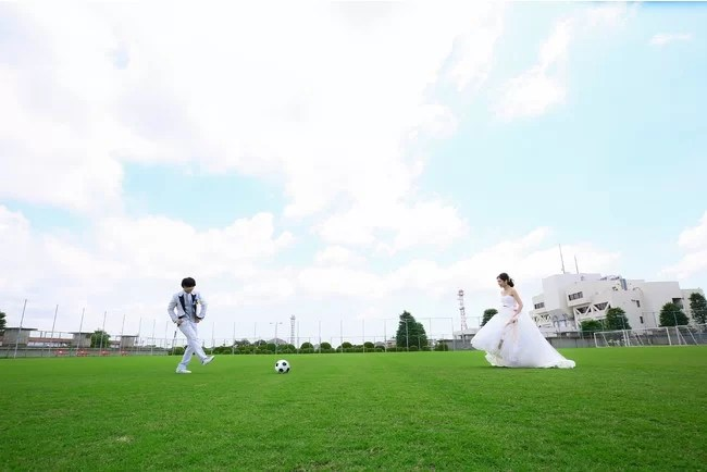 横浜ベイシェラトン独占企画「横浜FC フォトウエディング」