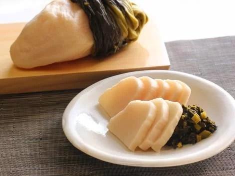 整腸作用と保湿のW効果を持つ ラブレ菌を含んだ食材「すぐき漬」