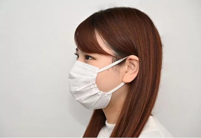 岡田商会、不織布マスク専用マスクフレーム「マスクのこぼね」