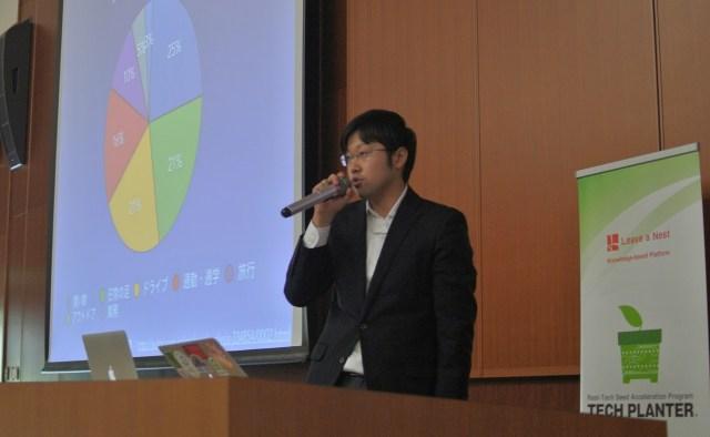 循環型社会モデルの実現と題して、EV充電システムについての提案をした株式会社Natruanix