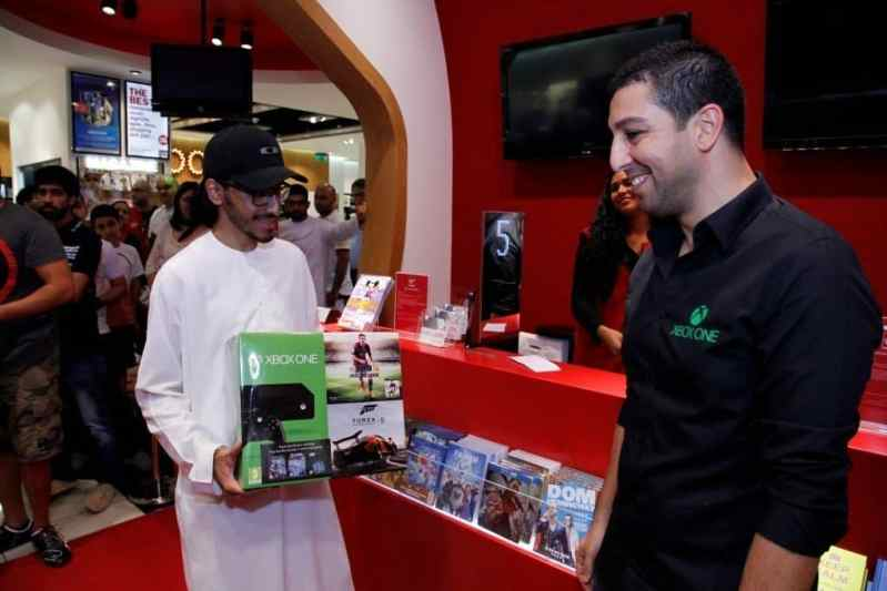 Hassan Al Mulla- First Xbox One owner at launch