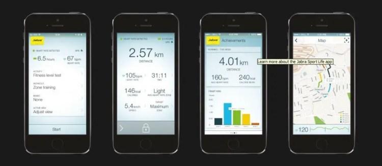 App screen shots 1024x447 - Jabra Sport Pulse Review