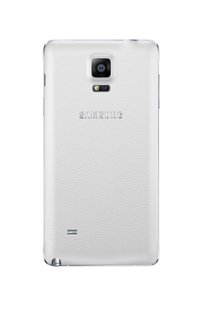 SM N910 Frost White Back 0031 682x1024 - Samsung Galaxy Note 4 Review