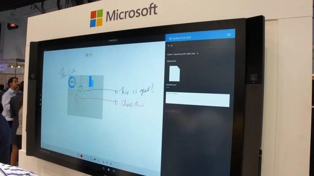 DSC02841 1024x574 - Microsoft Surface Hub launched in UAE & Qatar during Gitex.