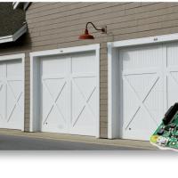 Garagentor-Überwachung und -steuerung