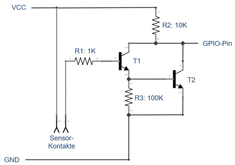 Schematics: Darlington-pair or Darlington transistor