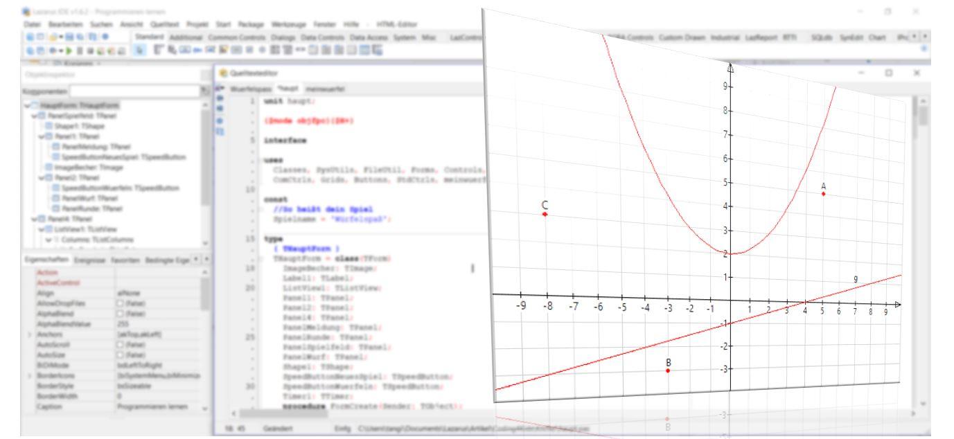 Coding für Kids: Funktionsgraphen im Koordinatensystem