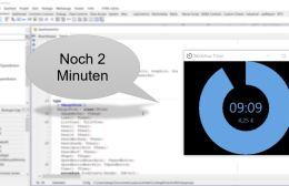 Workshop Timer mit Sprachausgabe