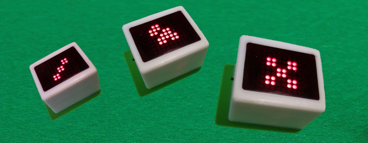 Arduino Würfel 2.0 – Schüttel-Würfel mit LED Matrix und Bewegungssimulation