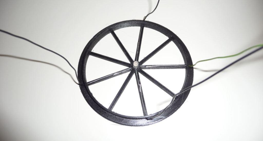Einbau der RGB-LED in der Lautsprecherabdeckung