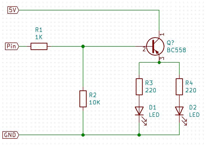 Schaltplan für RGB-LEDs