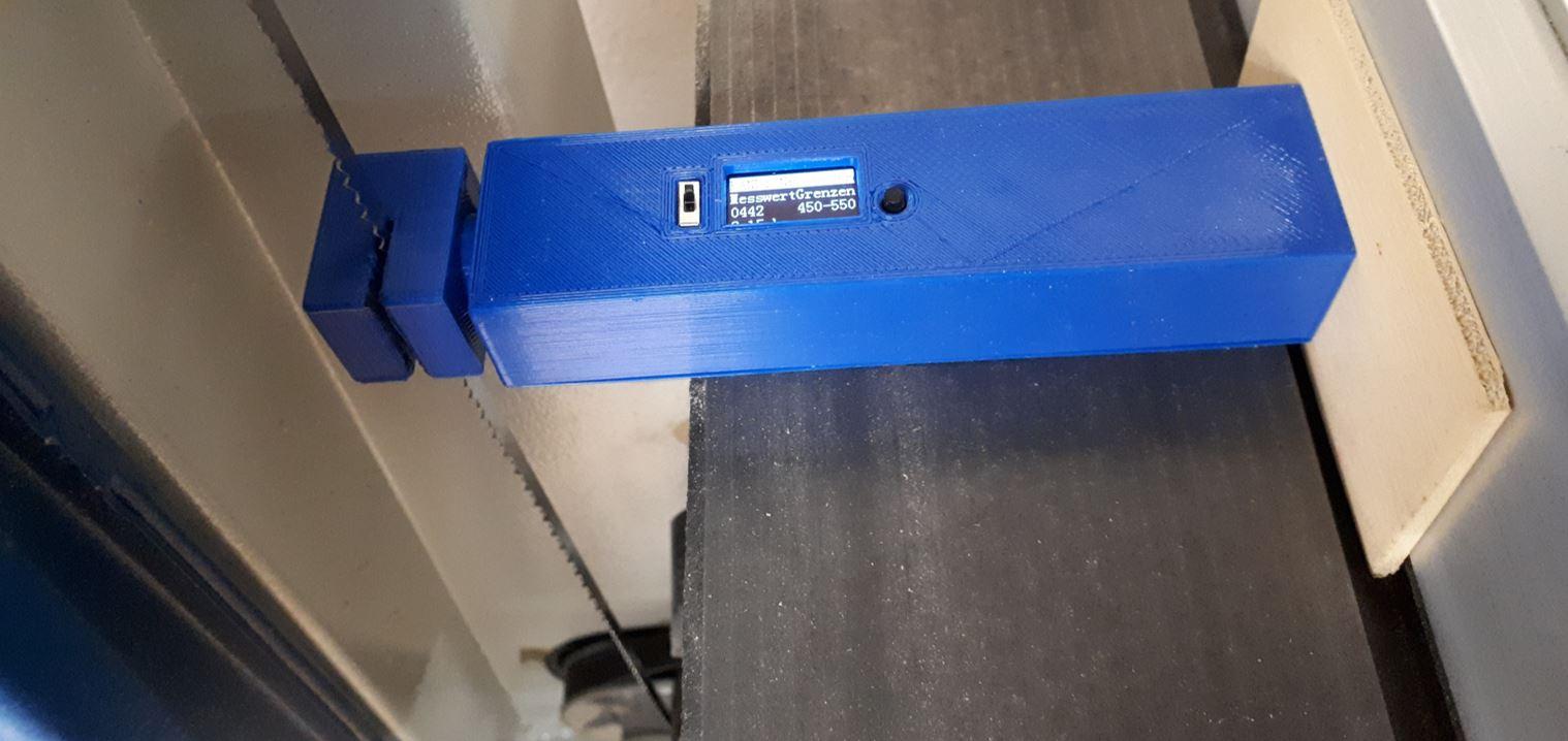 Eigenes Messgerät der Bandspannung an Bandsägen mit Arduino