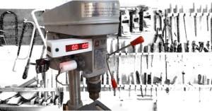 Bohrtiefenanzeige mit Gyro-Sensor
