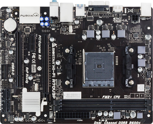 BIOSTAR AMD A70M Motehrboard (2)
