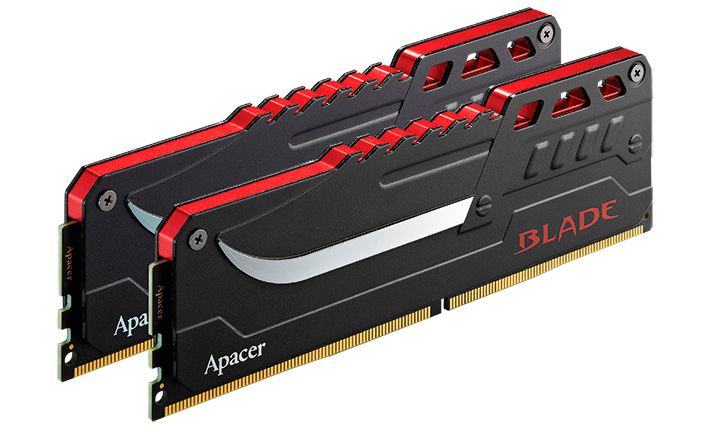 "Apacer Launches ""BLADE"" DDR4 Overclocking Memory Module"