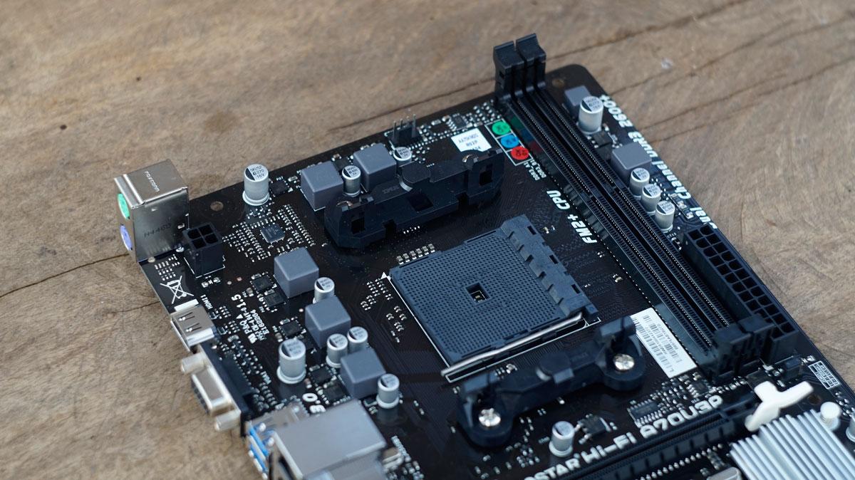 Biostar Hi-Fi A75S3 Ver. 6.1 AMD Chipset 64 BIT