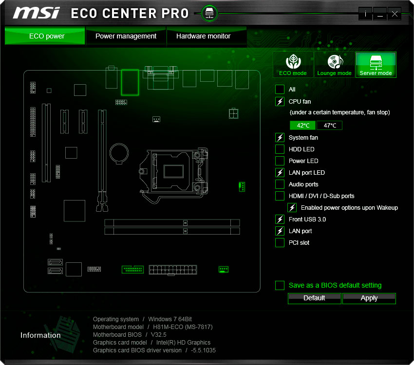 MSI H81M-ECO Motherboard Review | TechPorn