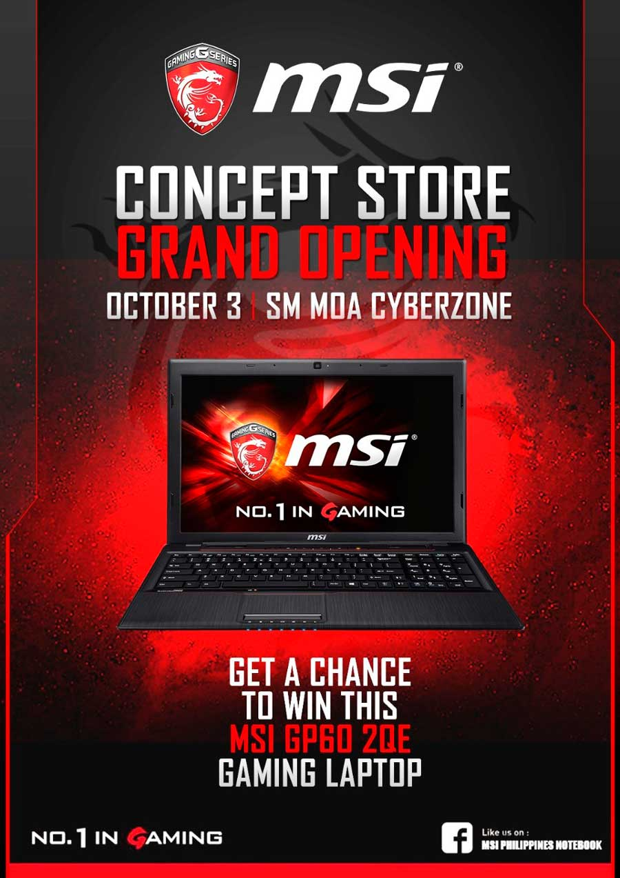 MSI PH Concept Store Opening SM MOA PR (3)