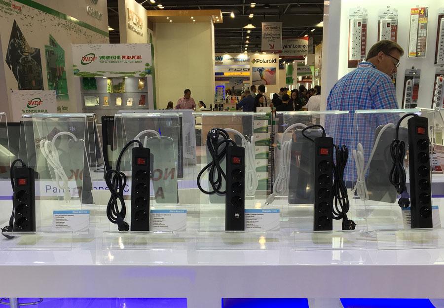 Huntkey Global Source Consumer Electronics Show PR (6)