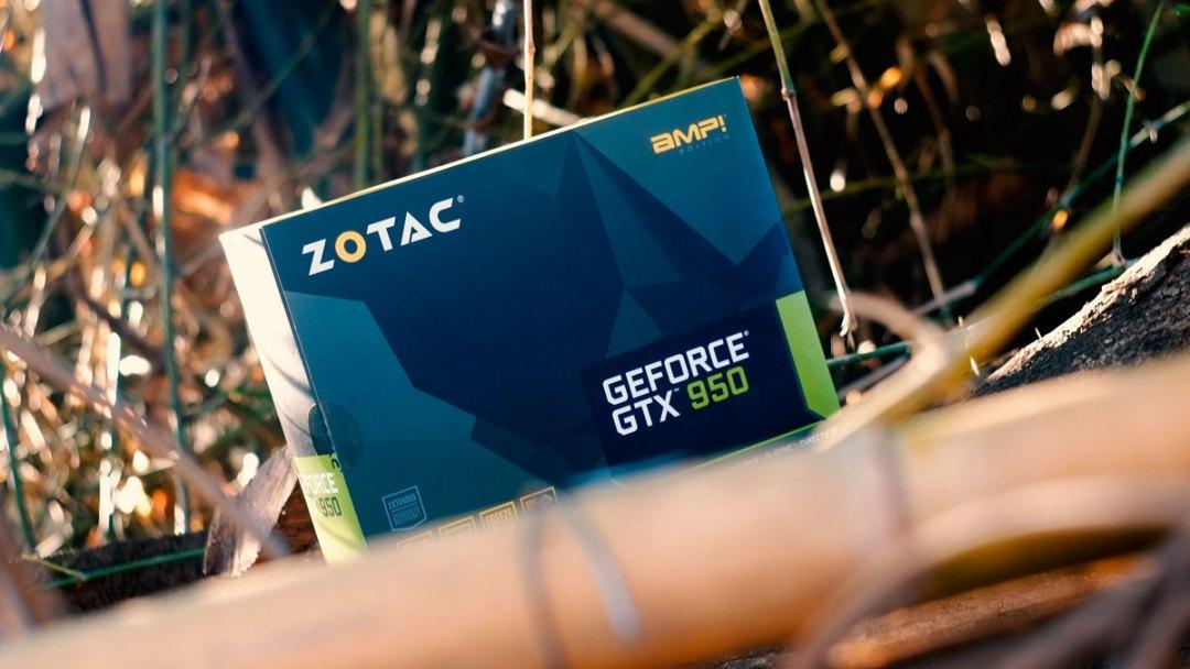 ZOTAC GTX 950 AMP! Review (1)